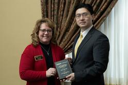 Sue Bayley with Dean Chiang
