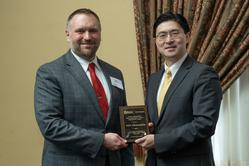 Nate Engelberth with Dean Chiang