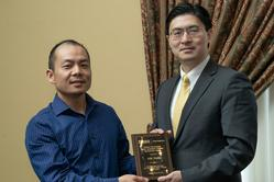 Jun Fang with Dean Chiang