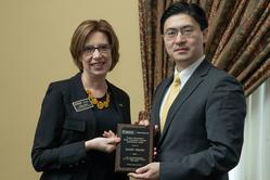 Kathy Heath with Dean Chiang