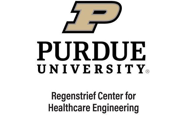 Purdue University Regenstrief Center for Healthcare Engineering Logo