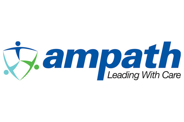 Ampath: Leading with Care Logo