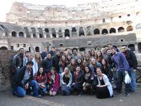 Group photo at Rome