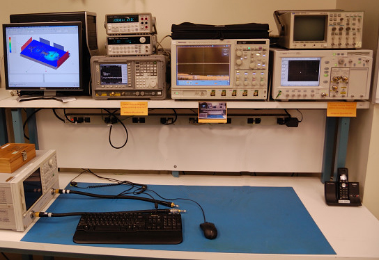 Agilent Network Simulator : Teaching