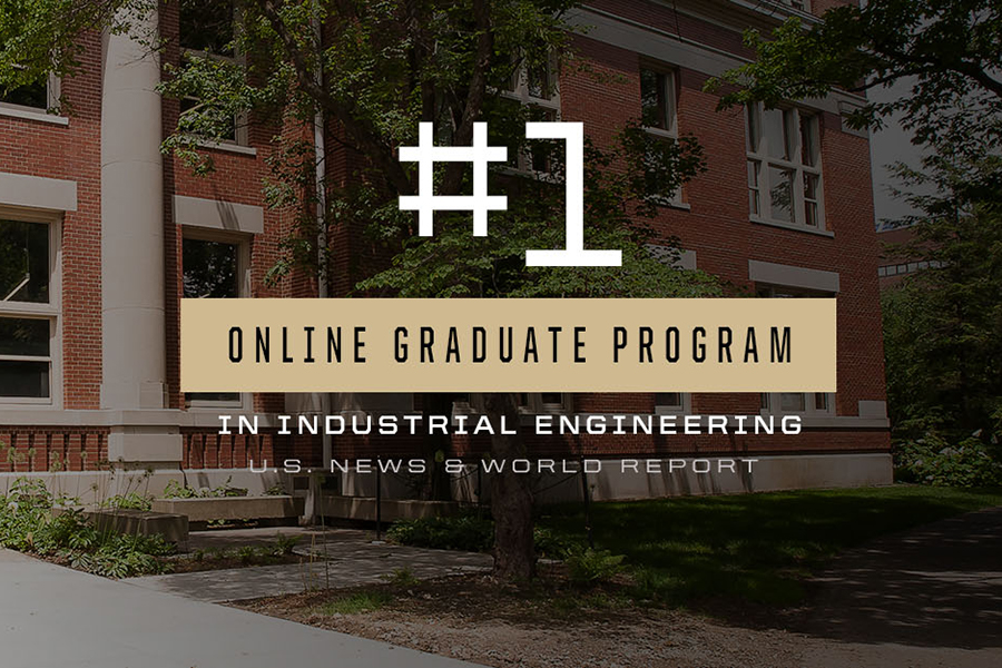 Purdue IE Online Graduate Program ranked #1 by USNWR