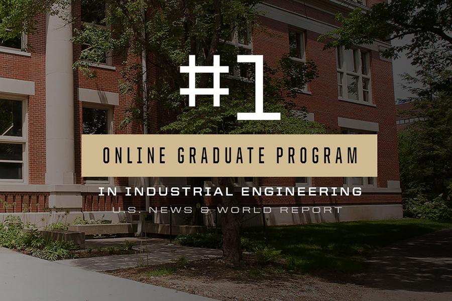 Purdue IE Online Graduate Program ranked #1 by USNWR