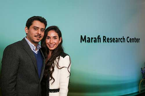 Mr. & Mrs. Abdullah Marafi