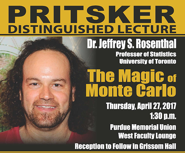 Photo of Pritsker Lecture flyer