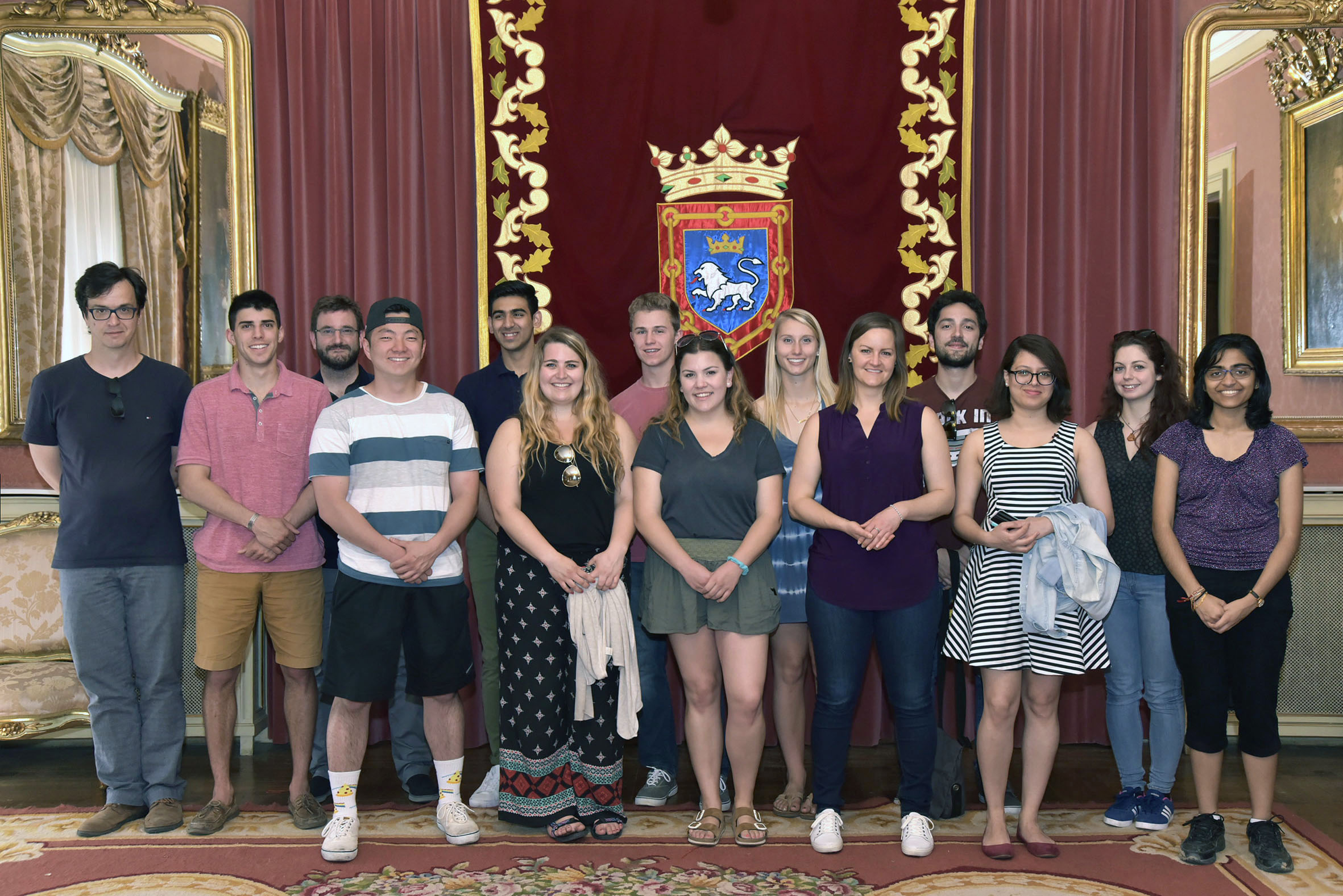 Photo of Maymester-Pamplona students
