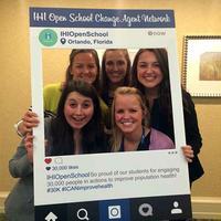 Purdue advisor and students attend IHI in Orlando, FL, Dec. 6-9, 2015.