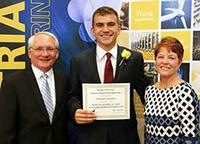 IE undergrads received scholarships at the April 21 dinner