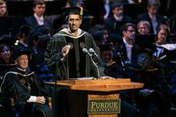 Photo of IE alum GV Sanjay Reddy at Purdue 2016 Winter Commencement