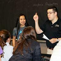 IIE Ambassadors teach 6th graders about industrial engineering