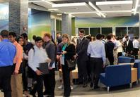 Career Fair hosted by IISE & IEGSO in Grissom Lobby