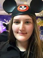 Warner enjoyed her Disney World internship!