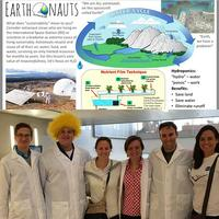 Multidisciplinary Purdue Earthonauts with IE PhD candidate Jocelyn Dunn (right)