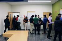 Photo of IE Career Fair - Waiting in line