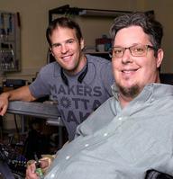 Photo of Brad Duerstock & Jeffrey Ackerman