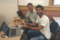 Photo of robotics project