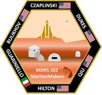 Photo of MartianMakers patch