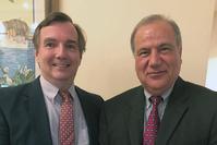 Photo of John Corliss and Hamid Parsaei