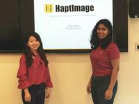 Photo of Ting Zhang and Shruthi Suresh
