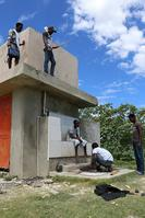 Photo of building contstruction