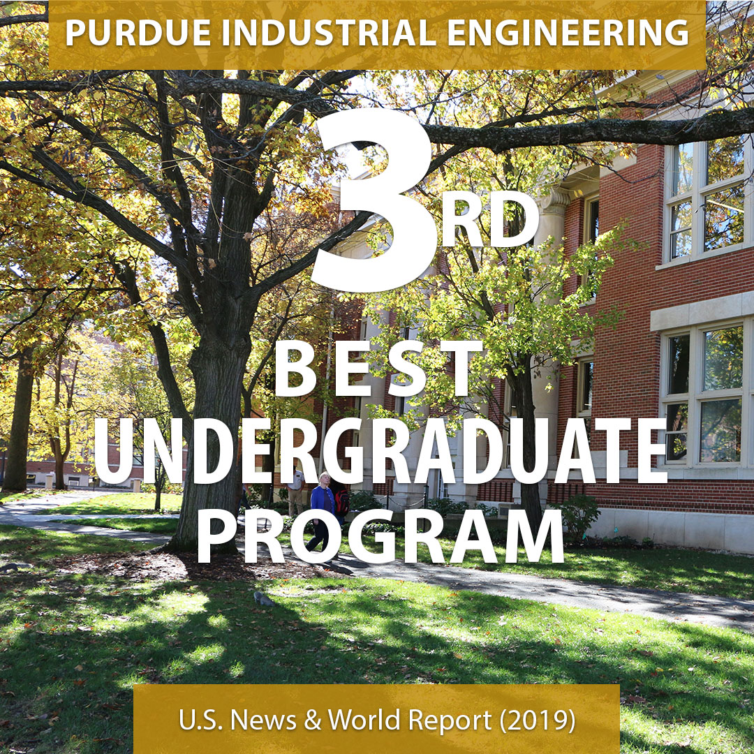 Graphic of Purdue IE=No. 3