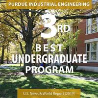 Purdue IE #3 ranking graphic