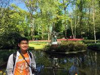 Photo of Tho Le at Keukenhof Gardens