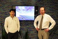 Photo of Profs. Seokcheon Lee & John Sutherland