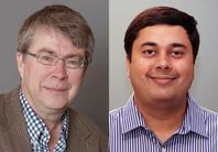 Photos of Prof. Mark Lehto & Asst. Prof. Gaurav Nanda