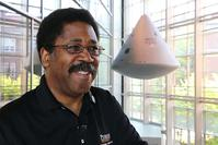 Dr. Barrett Caldwell, Professor of Industrial Engineering and Director of the Indiana Space Consortium