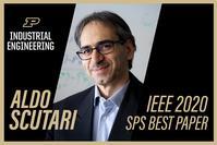 Purdue University School of Industrial Engineering Professor, Gesualdo Scutari