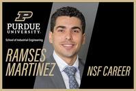 Prof. Ramses Martinez has been awarded the NSF CAREER award
