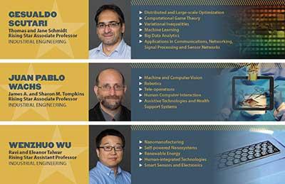 Photo of Rising Star Professors postcard