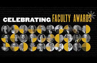 CoE Faculty Awards graphic