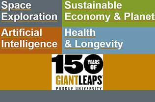Purdue IE Giant Leaps graphic