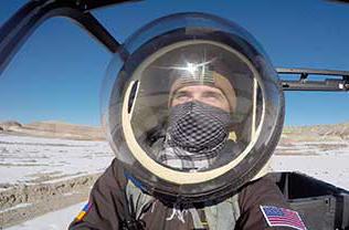 Photo of Denys Bulikhov on Mars simulation