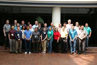 Members of Indiana Department of Transportation EVOLVE mentoring program and the Joint Transportation Research Program