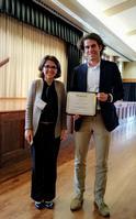 Photo of Dr. Roshi Nateghi & Ben Rachunok
