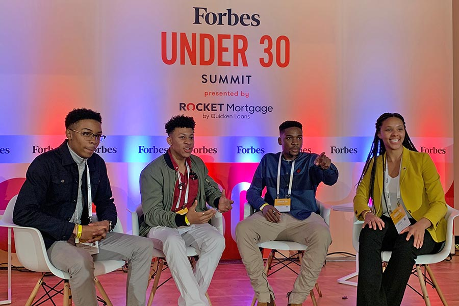 Read more: Morgan Fuller chosen for Forbes Under 30 Summit