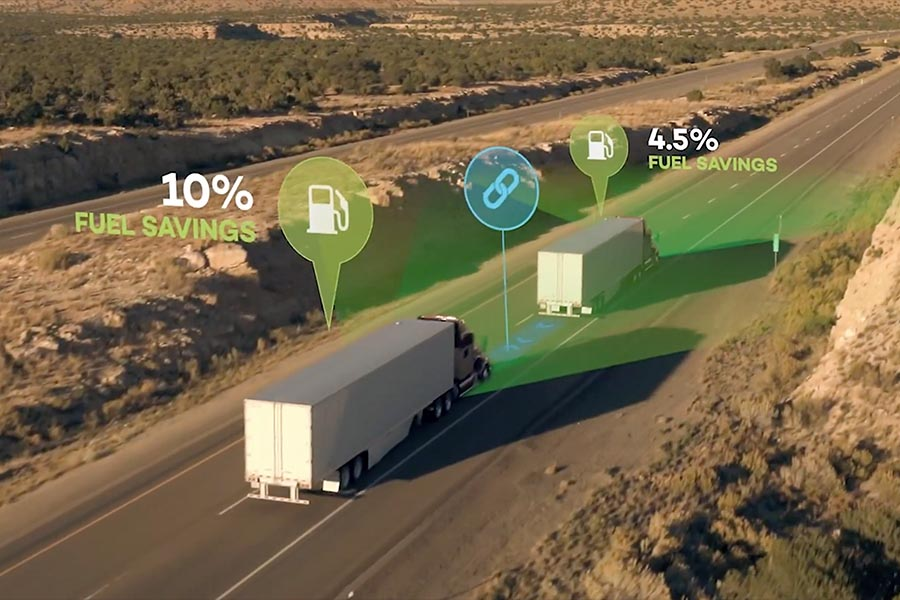 Read more: Truck platooning means safer and more efficient transportation