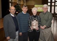 Mysore Dayananda, David Roberts, Donna Bystrom, and David Bahr