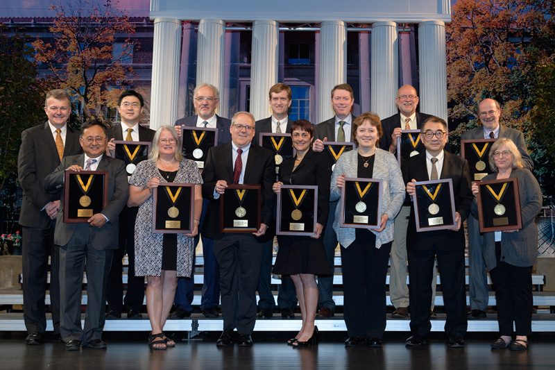Distinguished and Named Professorship Ceremony honors