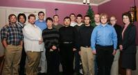 Members of the Alpha Nu Sigma Society