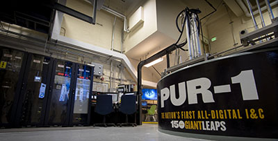 PUR-1 nuclear reactor at Purdue University