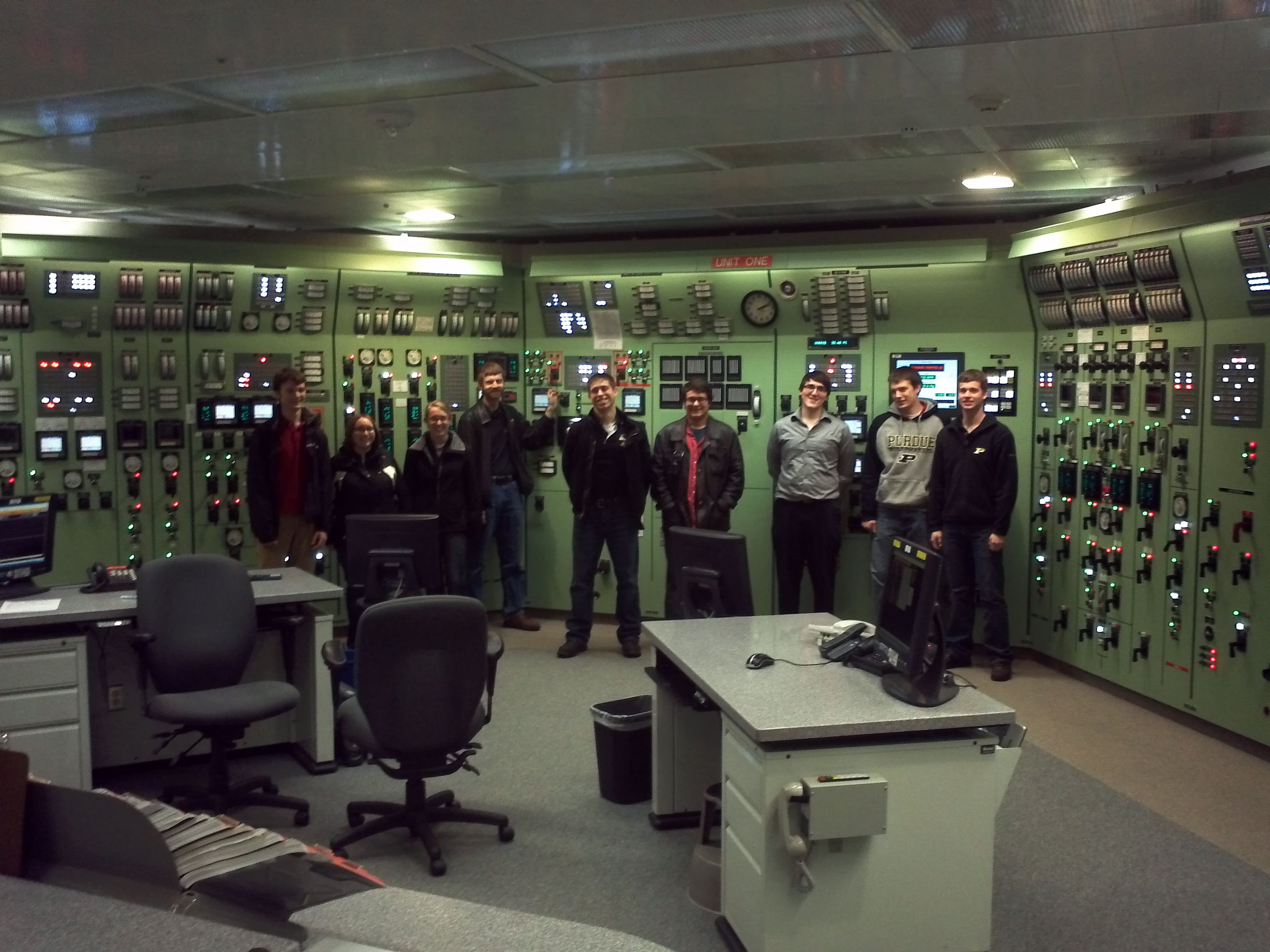ANS Students visit DC Cook Nuclear Plant - Nuclear Engineering - Purdue University