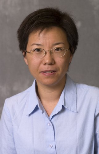 Photo of Min Zhang, Professor of Statistics