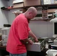 Joseph Kline at work